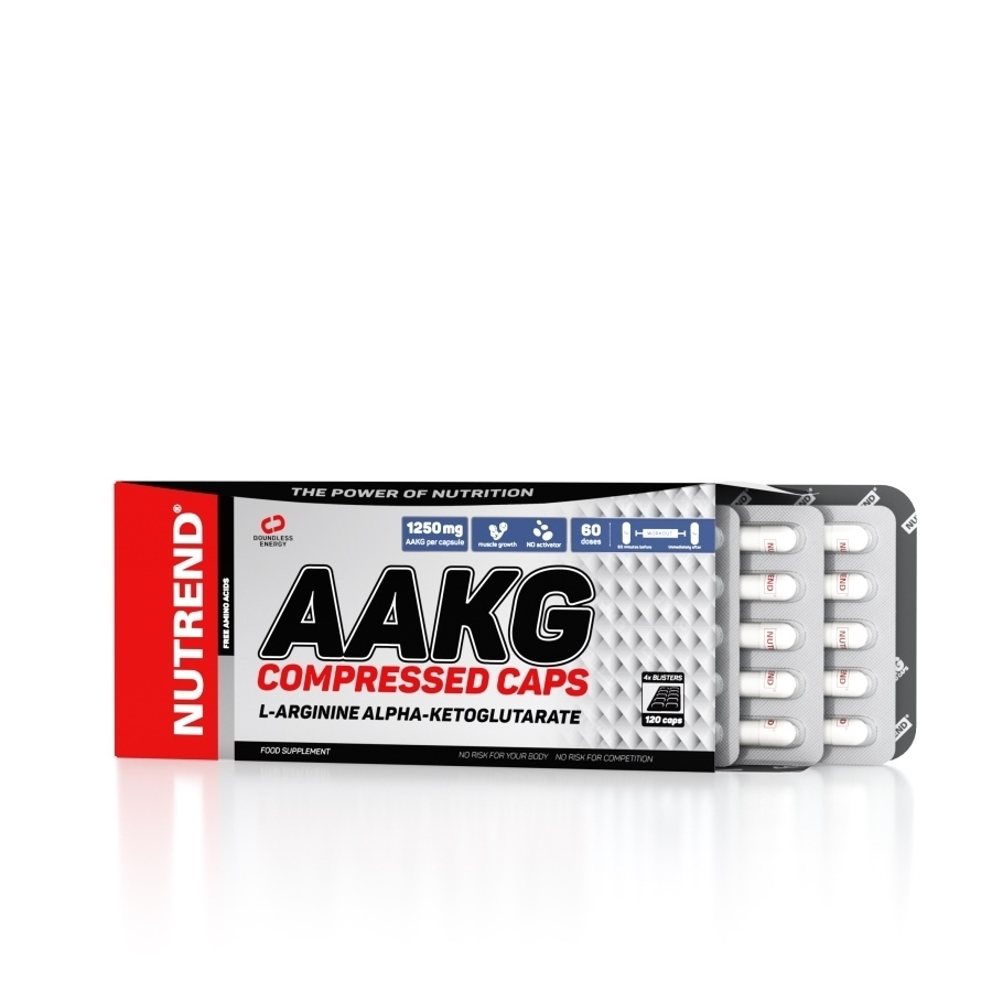 Nutrend AAKG Compressed Caps 60 капсул