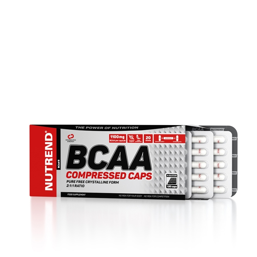 BCAA Compressed Caps 120 капсул