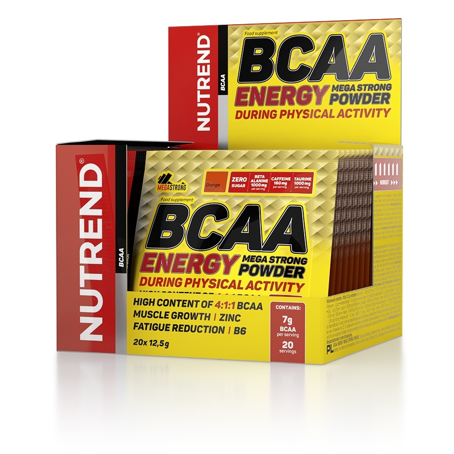 BCAA Energy Mega Strong Powder 20х12.5 гр