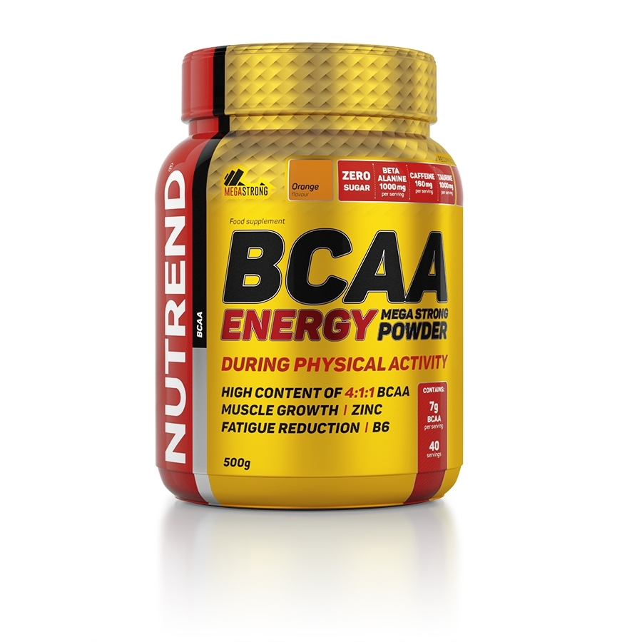 BCAA Energy Mega Strong Powder 500 грамм