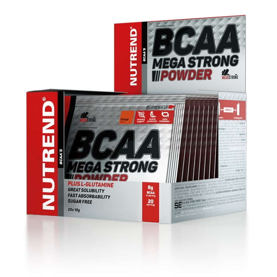 BCAA Mega Strong Powder 20х10 гр