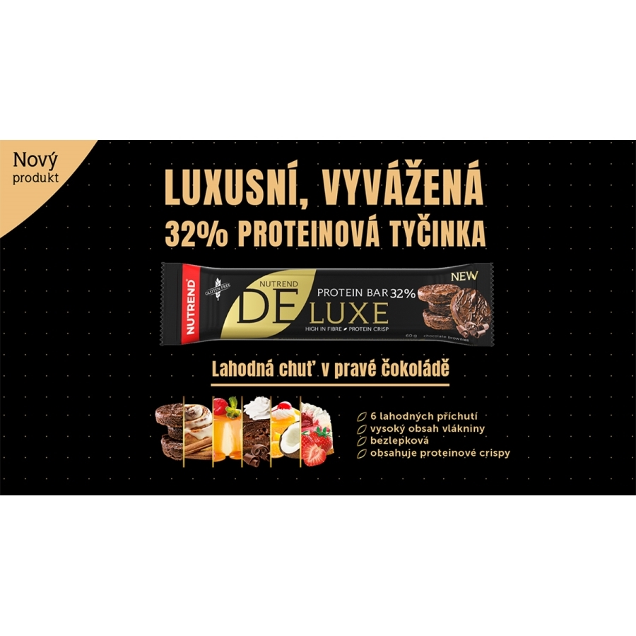 Deluxe Protein Bar 12x60 гр