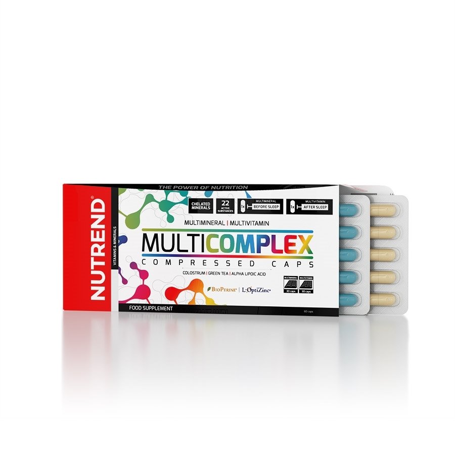 Multicomplex Compressed Caps 60 капсул