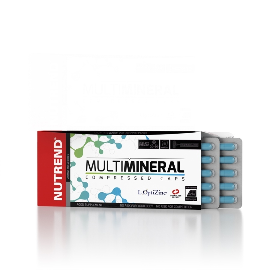 Nutrend Multimineral Compressed Caps 60 капсул