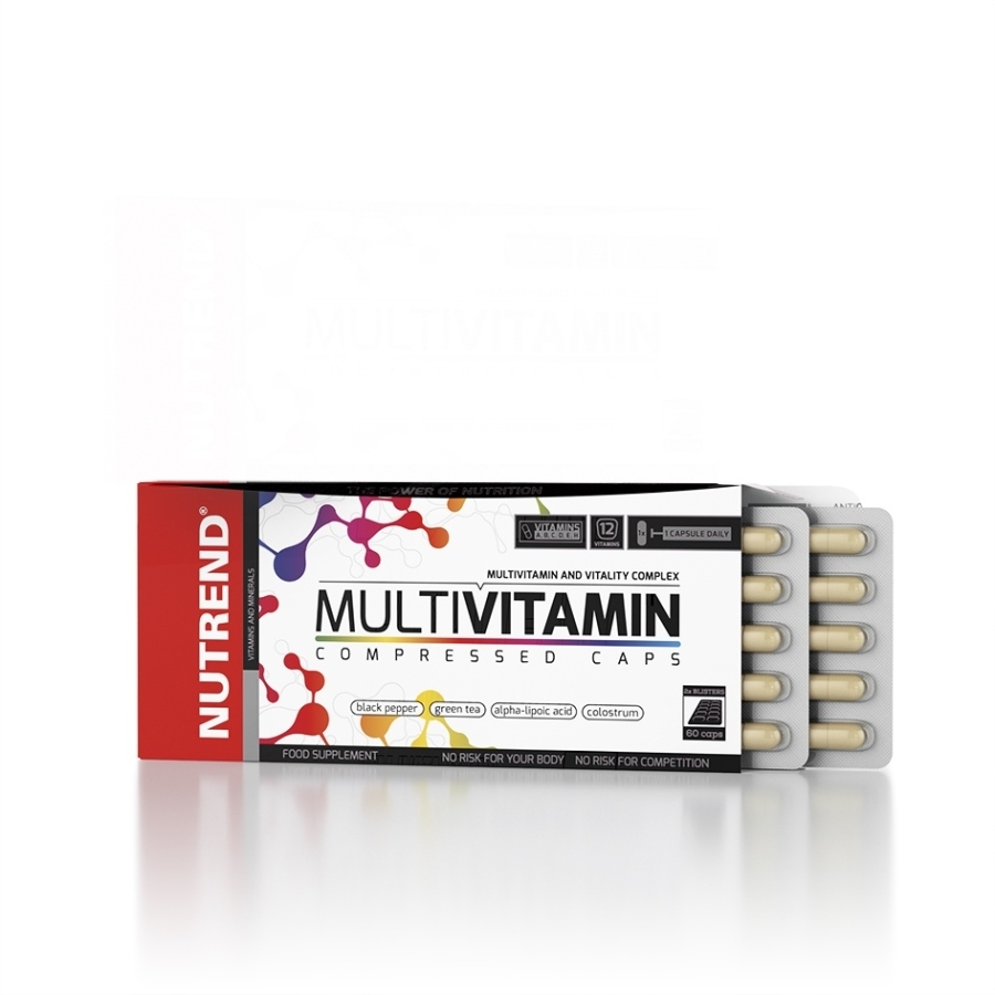 Multivitamin Compressed Caps 60 капсул