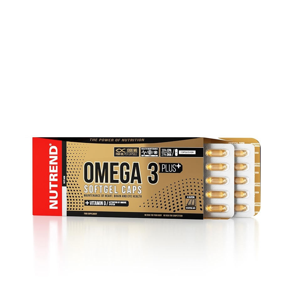 Omega 3 Plus Softgel Caps 120 капсул