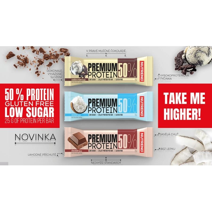 Nutrend Premium Protein 50 Bar 16x50 гр