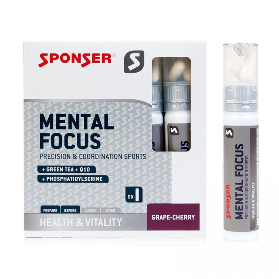 Mental Focus 5х25 мл+2 таблетки