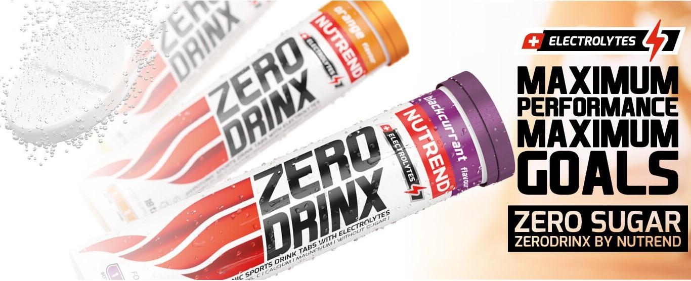 Nutrend Zerodrinx Tabs